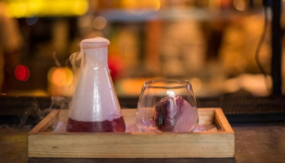 Liquid nitrogen,Molecular gastronomy,Cocktail