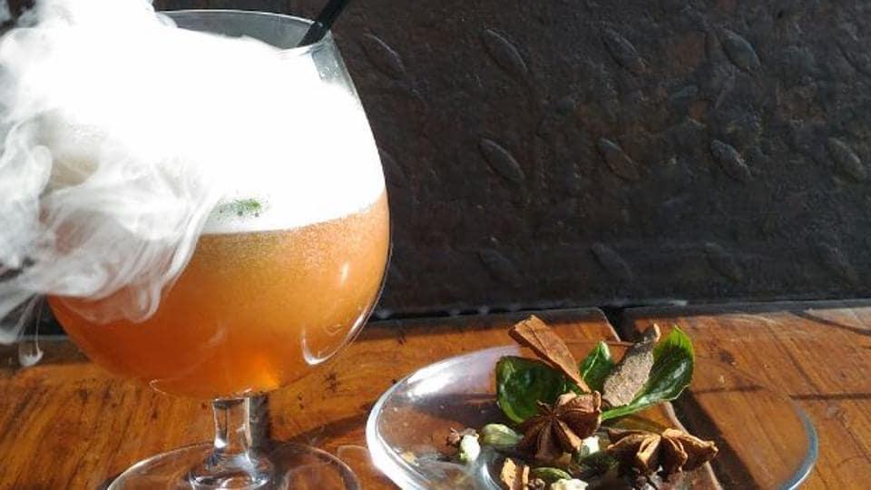 Liquid Nitrogen Cocktails,Smoky Cocktails,Instragram Worthy Cocktails