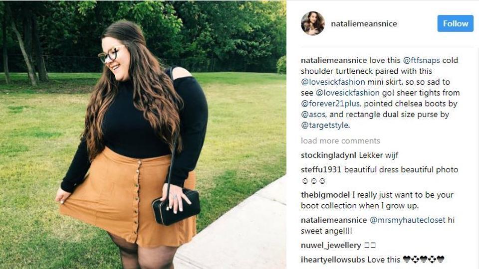 Natalie Hage,Body Shaming,Plus Size Models