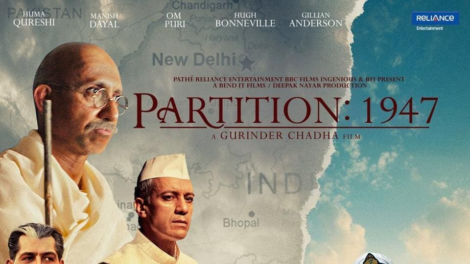 A poster of Partition 1947.