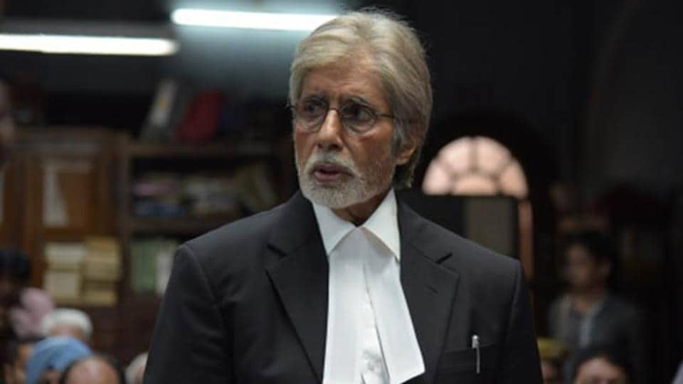 Amitabh Bachchan played a lawyer in Pink.