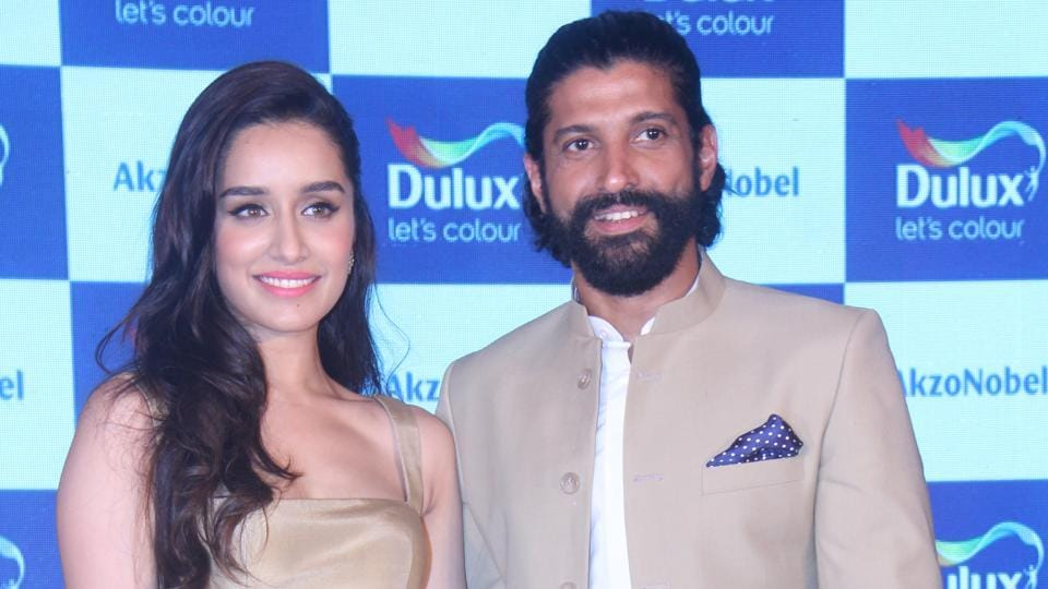 Actors Shraddha Kapoor and Farhan Akhtar are rumoured to be dating after their film Rock On 2.
