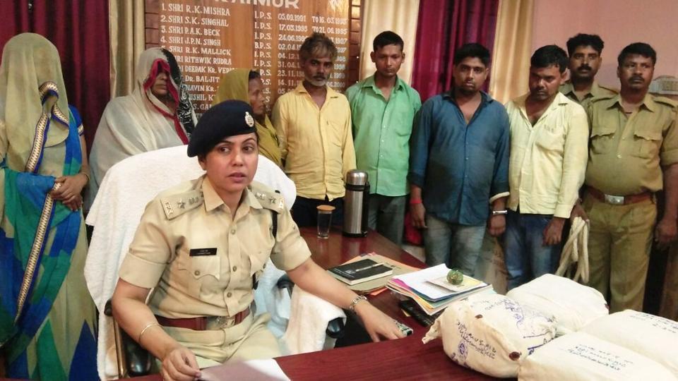 ganja seized,68 kg ganja,six arrested