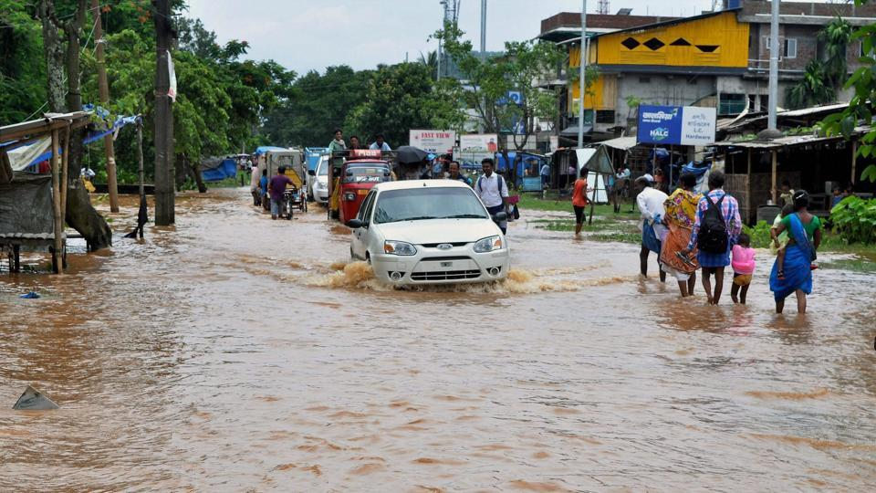 According to the ASDMA  report, the floods have also affected about 8,000 hectares of crop area, of which Lakhimpur and Dhemaji districts accounted for 3,500 hectares each. (PTI)