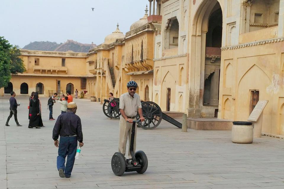 Segway scooter service will be available to tourists at Amer and Nahargarh  in Rajasthan from Wednesday.