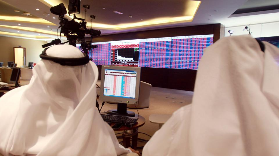 Qatar's stock exchange dropped more than 3 percent after it opened on Monday following the Eid al-Fiitr holiday and news of the 48 hour extension of the compliance deadline. (Stringer / Reuters)