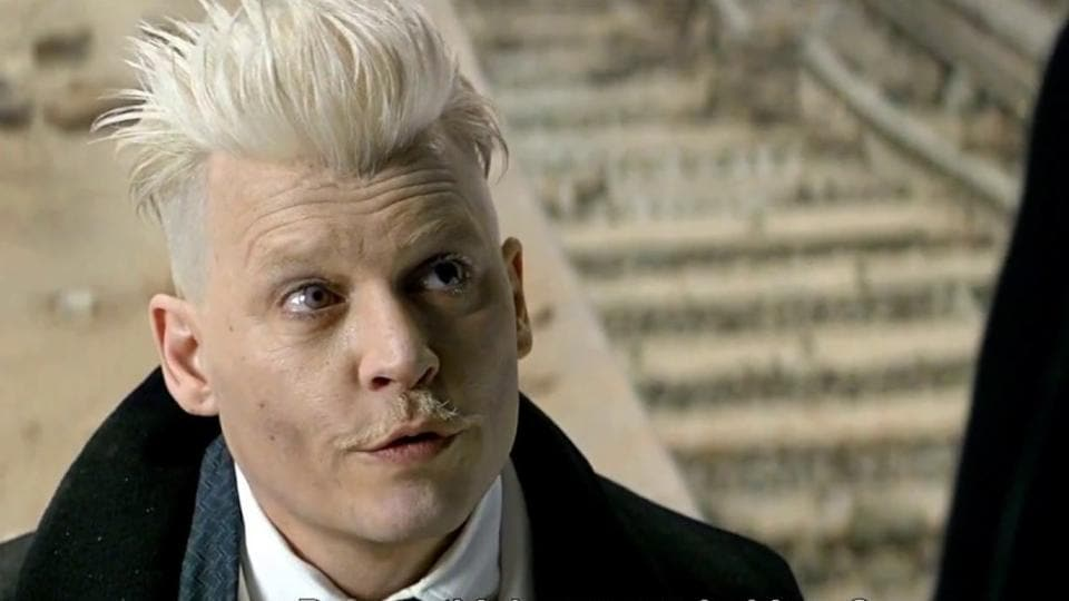 Johnny Depp will be back as Grindelwald.