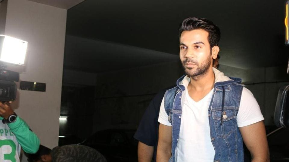 Actor Rajkummar Rao shared the look for his upcoming web series Bose.