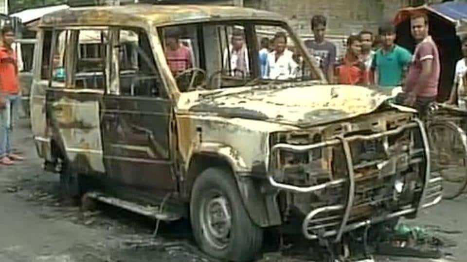 Violence erupted between two communities at Baduria in West Bengal on the night of July 3 over an alleged blasphemous Facebook post.