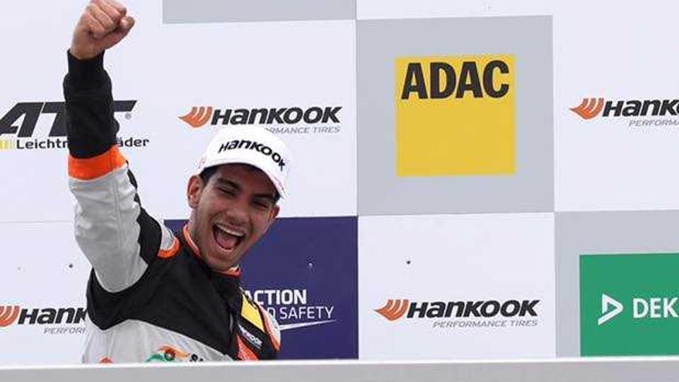 Jehan Daruvala became the first Indian to win a race in the FIA Formula 3 European Championship