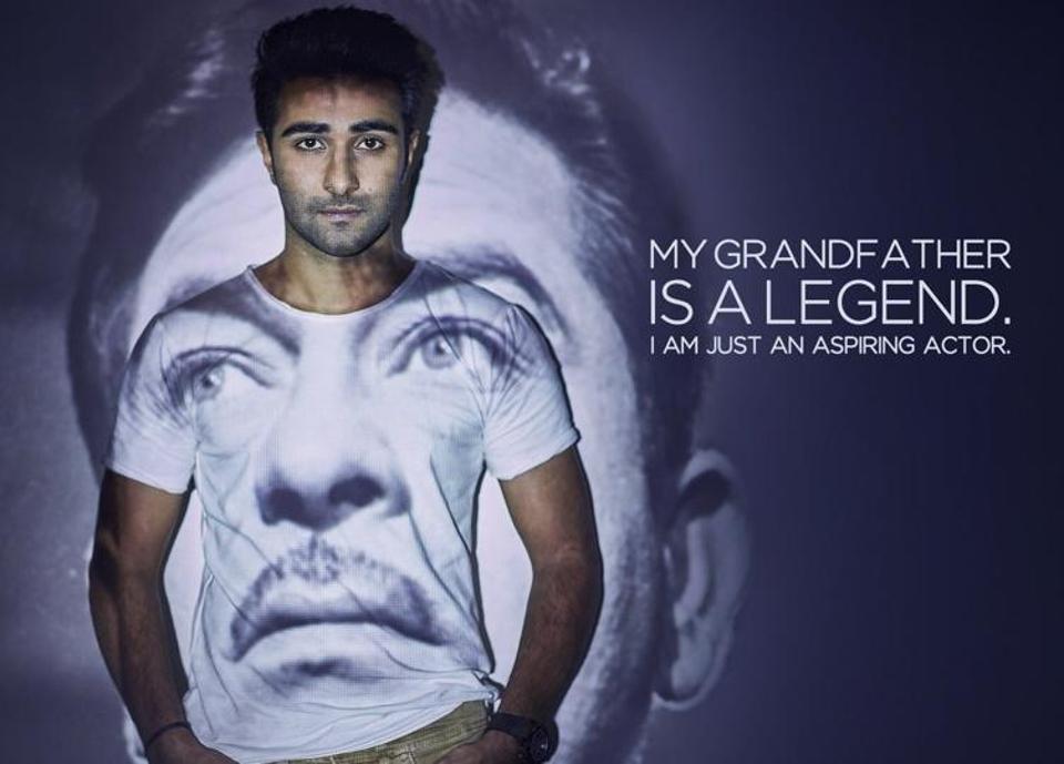 Aadar Jain is the son of Raj Kapoor's daughter.