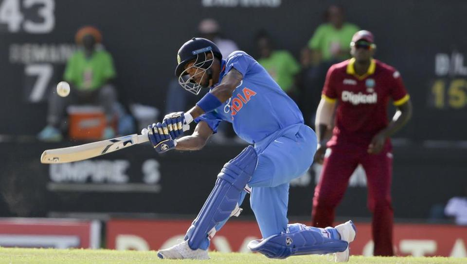 Hardik Pandya has become a consistent member in the Indian limited overs team. He is playing against West Indies currently.