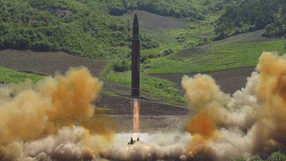 South Korea,North Korea,ICBM test