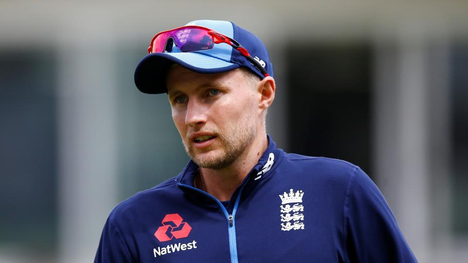 England's Joe Root during the nets ahead of the first Test against South Africa in London on Thursday.