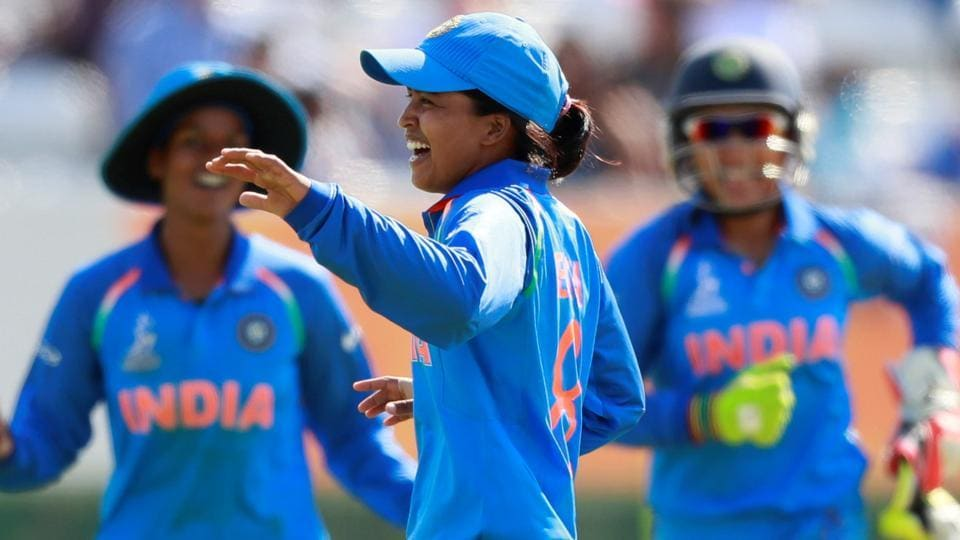 India notched their fourth straight win against Sri Lanka at the ICC Women's World Cup. Catch full cricket score of India vs Sri Lanka here.