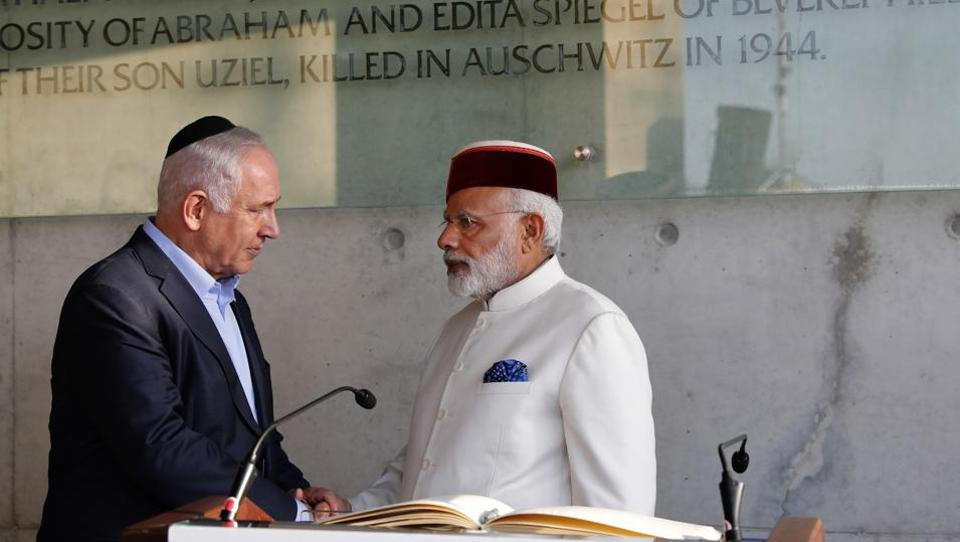 Indian Prime Minister Modi to meet with Israeli President Rivlin today