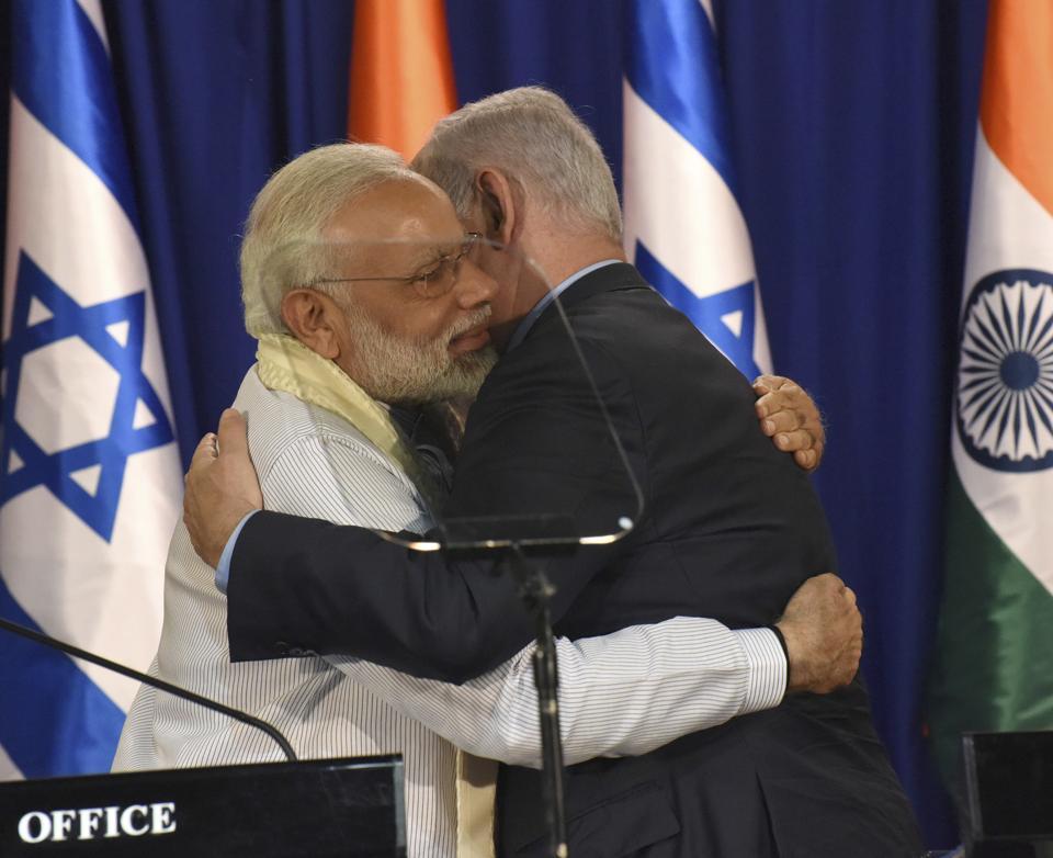 Benjamin Netanyahu,South Asia,Prime Minister Modi in Israel