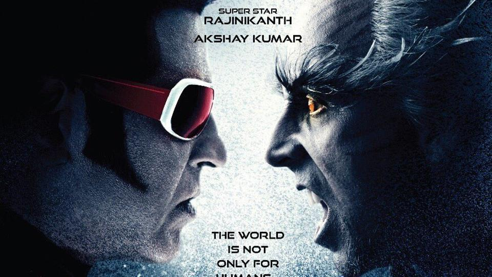 2.o  stars Rajinikanth in the lead role while Akshay Kumar plays the antagonist.