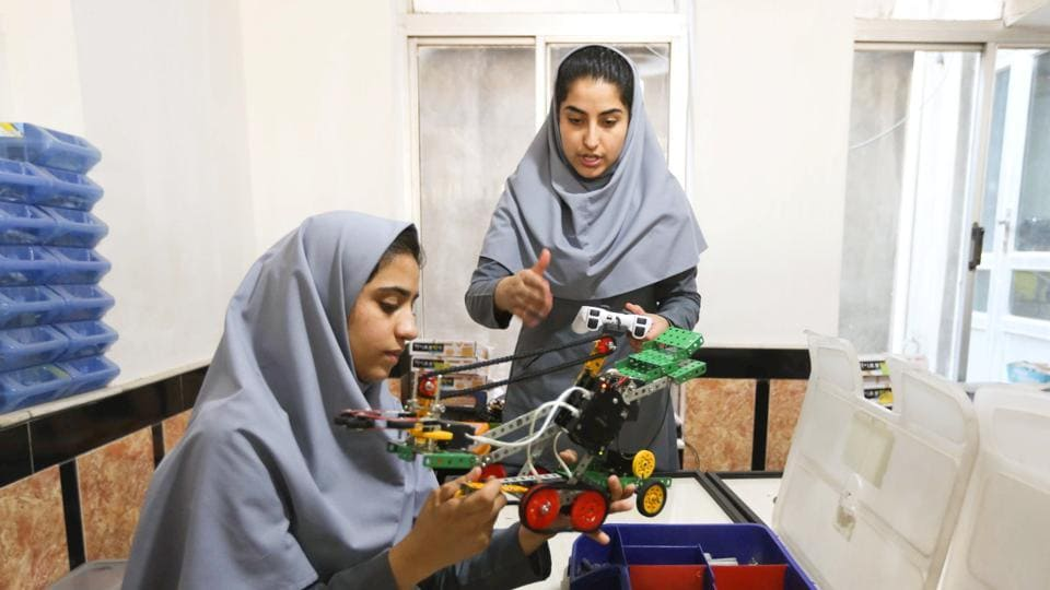 Afghan all-girl robotics team denied entry to United States for competition