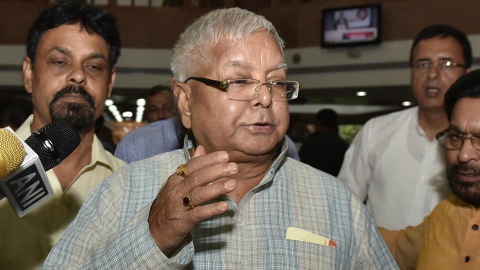 Strong possibility of Akhilesh Yadav, Mayawati coming together: Lalu Prasad Yadav