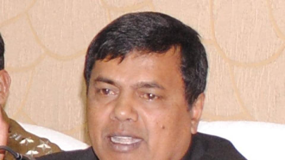 Bihar IAS officer SM Raju. (HT file photo)