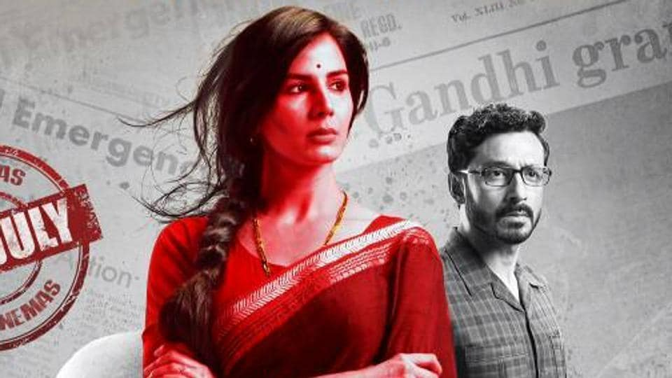 Kirti Kulhari on the poster of Indu Sarkar.