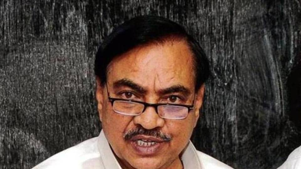 Eknath Khadse had to step down from the cabinet following allegations of corruption in a land deal at Bhosari in Pune