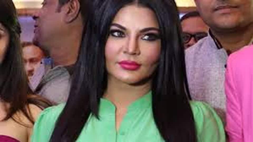 Rakhi Sawant.