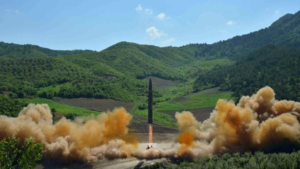 North Korea said on Tuesday it successfully test launched an intercontinental ballistic missile (ICBM) at an undisclosed location, which flew a trajectory that an expert said could allow a weapon to hit the US state of Alaska.