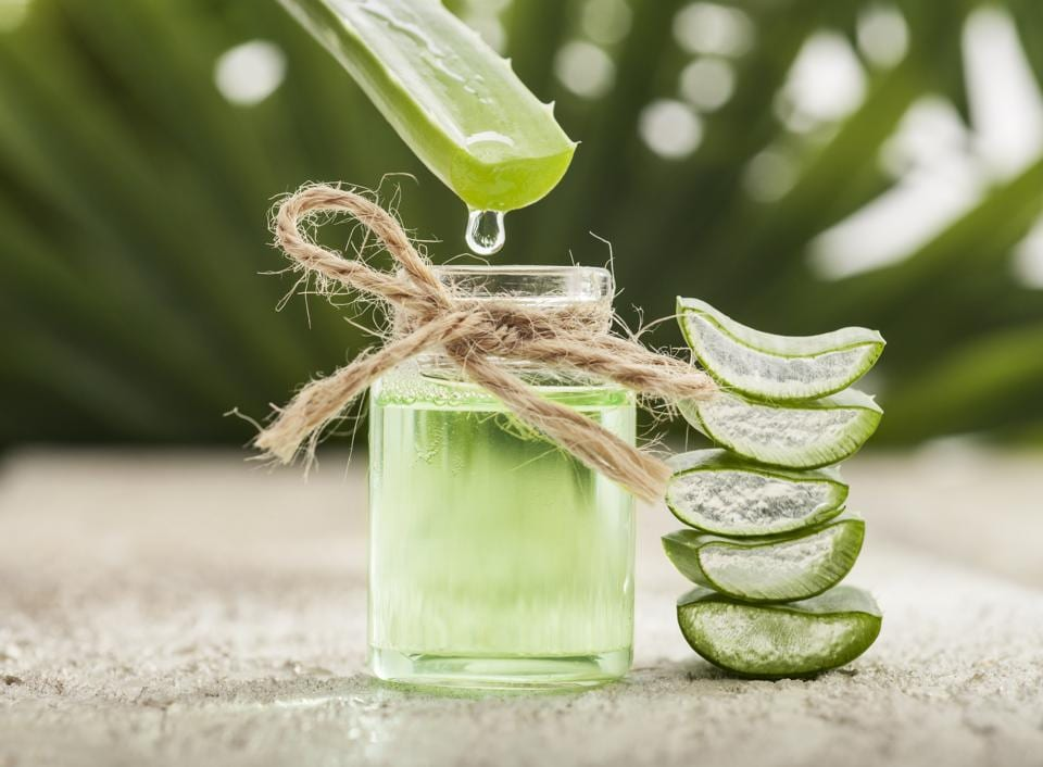 Aloe Vera juice has a cooling effect on the body from the inside