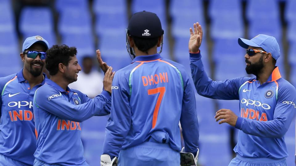 Live streaming and live cricket score of India vs West Indies, 5th ODI was available online. IND crushed WI by 8 wickets to clinch the five-match series 3-1.