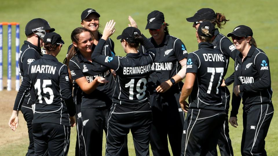New Zealand beat West Indies at the ICC Women's World Cup. Catch full cricket score of New Zealand vs West Indies here.
