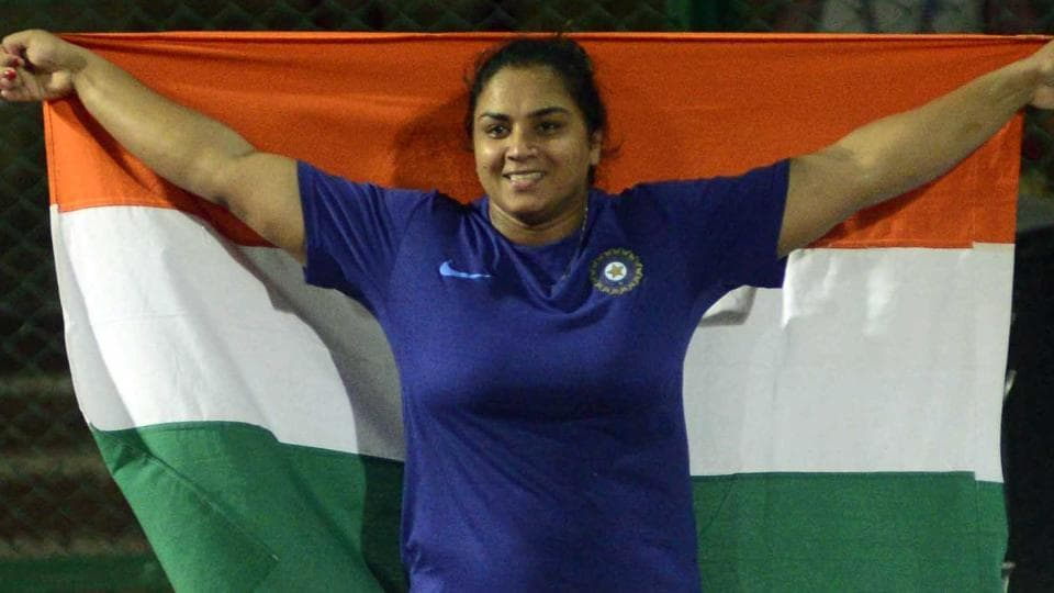 Manpreet Kaur clinched the gold medal in the women's shot put with a throw of 18.28 metres in the Asian Athletics Championships in Bhubaneswar.