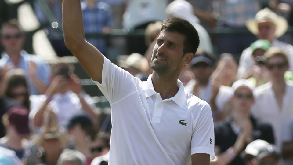 Novak Djokovic entered the third round of the Wimbledon 2017 tournament with a dominant display against Adam Pavlasek.