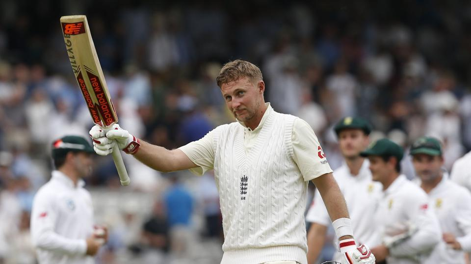 Joe Root slammed a brilliant 184 while Moeen Ali smashed 61 as England ended day 1 of the Lord's Test against South Africa on 357/5.