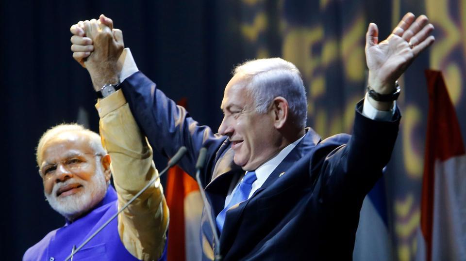 Narendra Modi,Benjamin Netanyahu,Modi in Israel