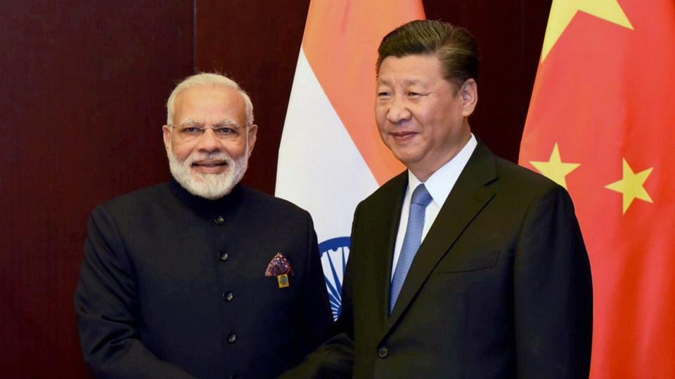 Prime Minister Narendra Modi and Chinese President Xi Jinping during an earlier meeting in Astana, Kazakhstan.