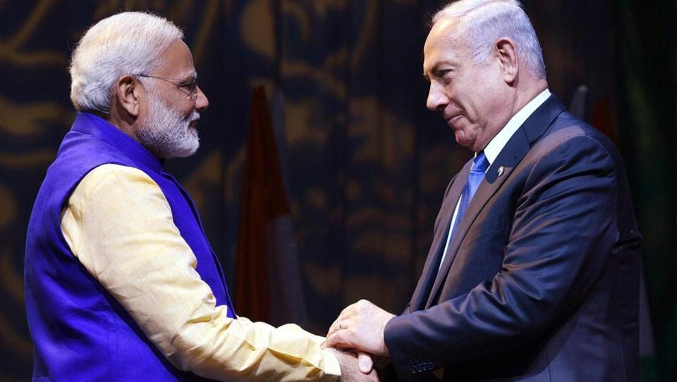 Narendra Modi,PM Modi's Israel visit,Benjamin Netanyahu