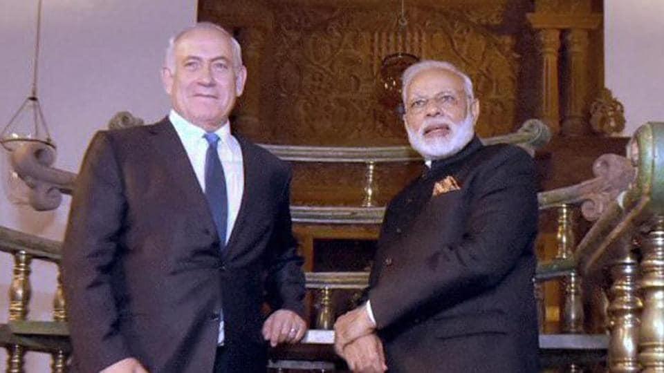 Benjamin Netanyahu,Narendra Modi,Israel