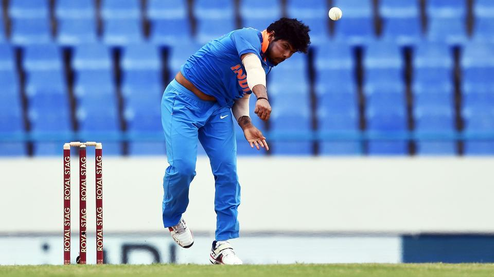 Umesh Yadav has been leading India's pace attack against the West Indies in the Caribbean.