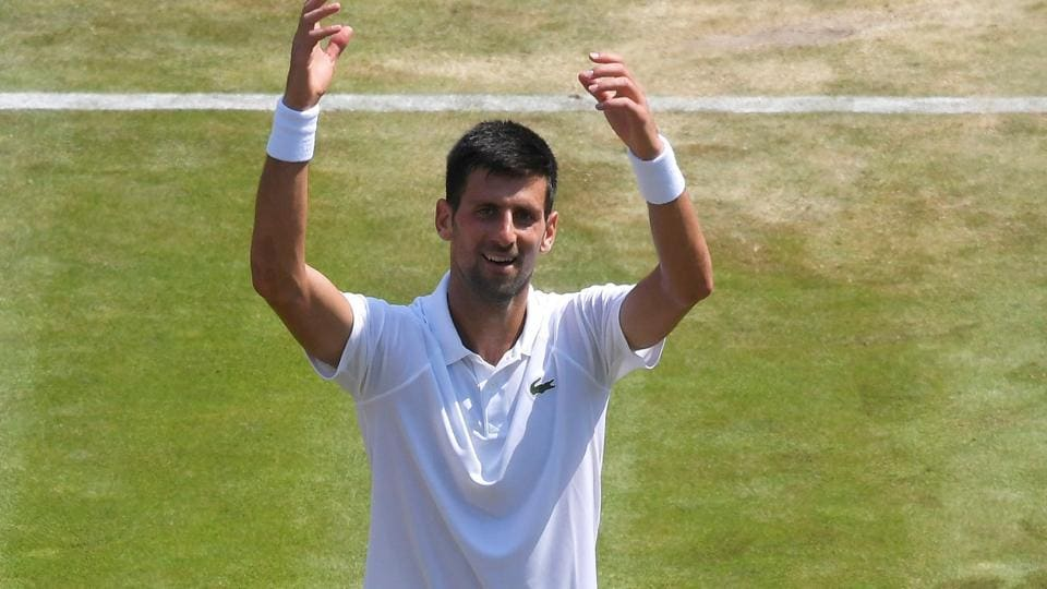 Novak Djokovic stormed into the third round of Wimbledon 2017 championships with a stunning display while the women's number three seed Karolina Pliskova crashed out. (REUTERS)
