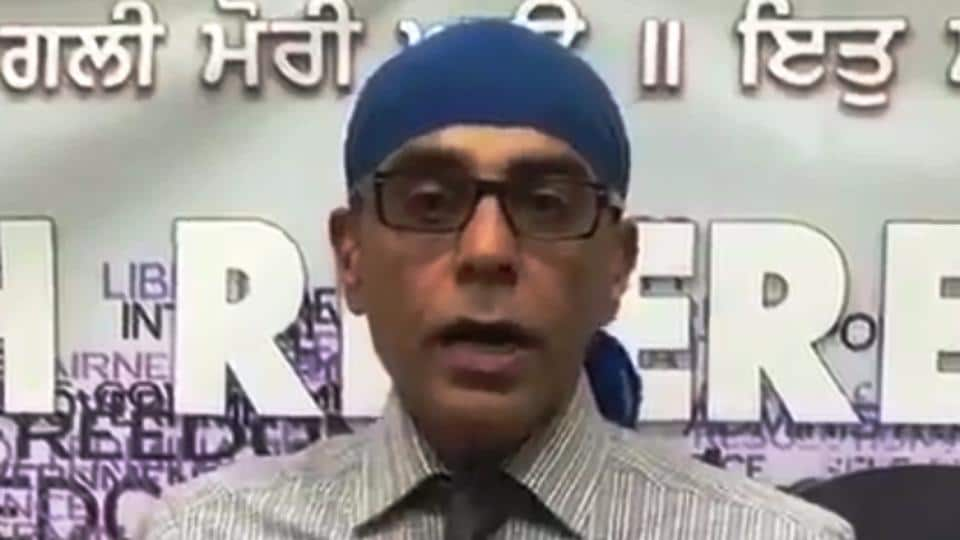 Gurpatwant Pannun, legal advisor of  Sikhs For Justice
