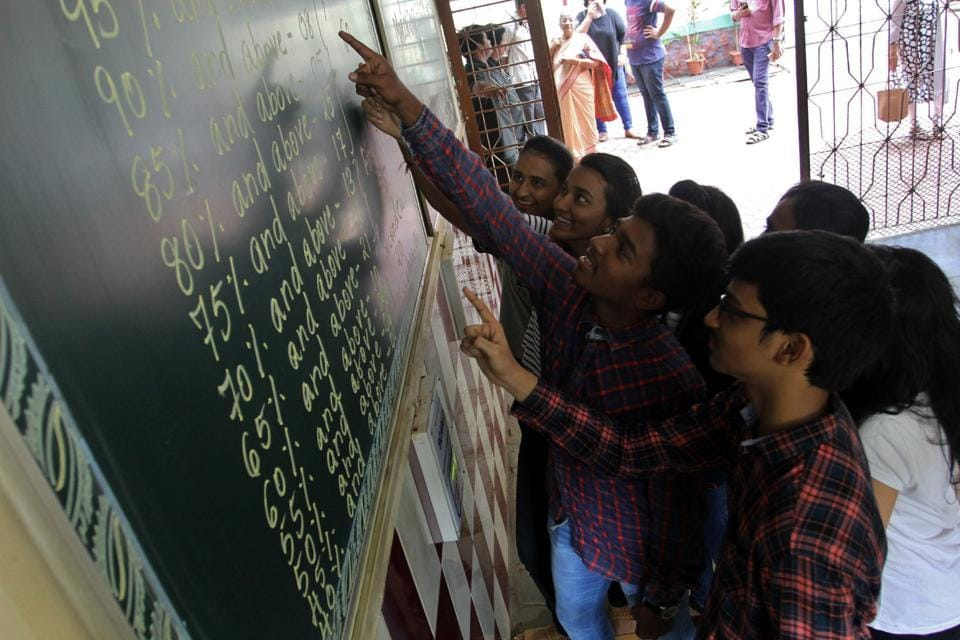 Colleges were instructed to give students admission 'on paper'.