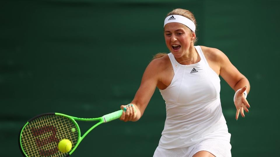 Defending French Open champion Jelena Ostapenko needed an hour and 20 minutes to see off Italian Camila Giorgi 7-5, 7-5 in the third round. (Twitter )