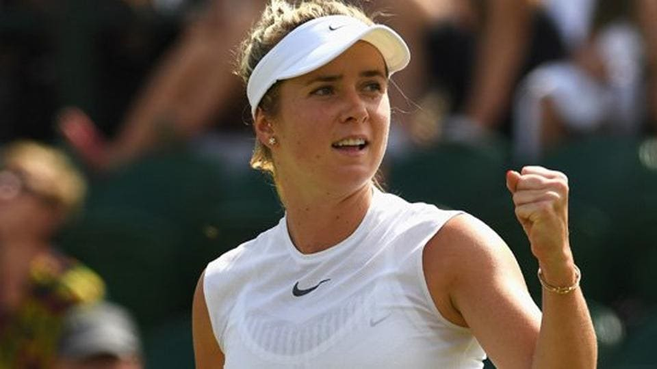 Fourth seed Elina Svitolina took the last three games to record a 6-1, 7-5 win over German Carina Witthoeft in the third round match.  (Twitter )