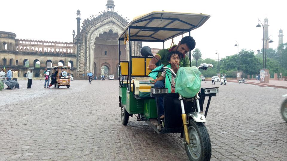 A number of workers known for their skill are pulling rickshaws and doing other menial jobs.