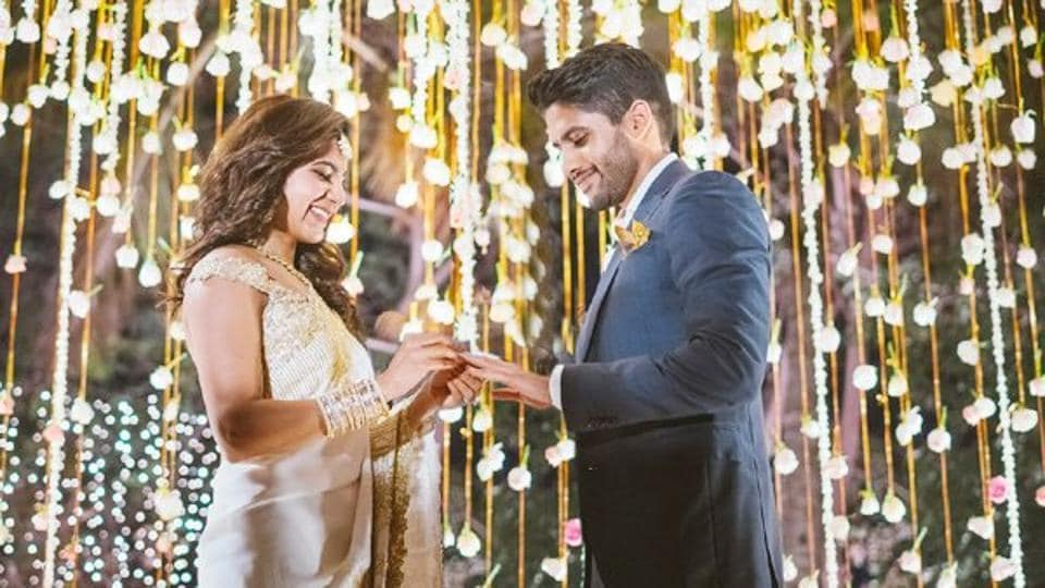 Samantha Ruth Prabhu and Naga Chaitanya got engaged on January 29 in Hyderabad.
