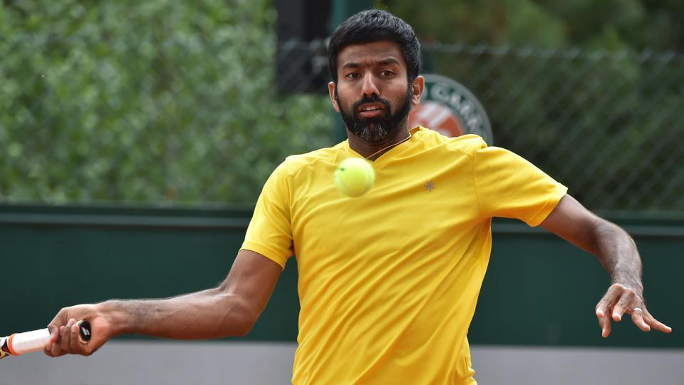Rohan Bopanna-Edgar Roger-Vasselin lost 6-7(6), 3-6, 7-6 (5), 3-6 to Great Britain's Ken Skupski-Neal Skupski in the second round. The match lasted two hours and 28 minutes. (AFP )