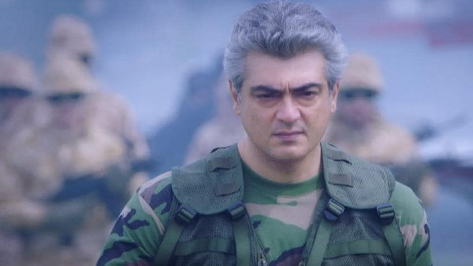 Ajith plays the lead role in Siva's Vivegam.
