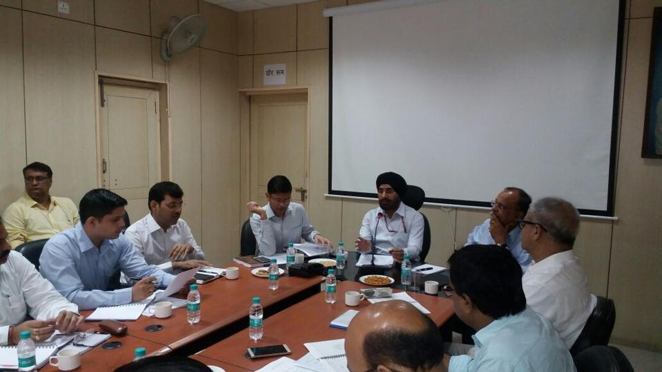 BS Bhullar, the chief of Directorate General of Civil Aviation (DGCA) asked the district administration officials and Income Tax (I-T) department in Noida on Thursday evening to conduct workshops for businessmen, industrialists and traders.